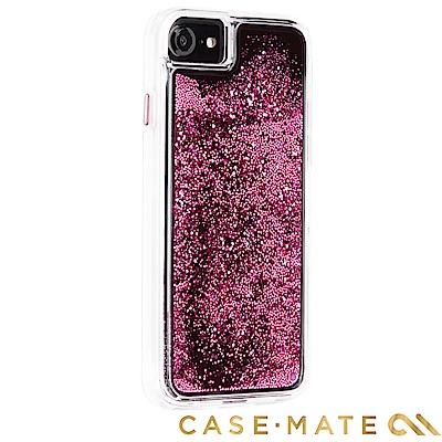 美國 Case-Mate iPhone 8 Waterfall 亮粉瀑布 - 玫...