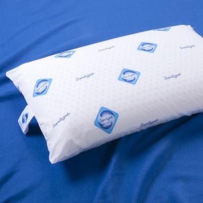 Jumendi-閑靜品味 防蹣抗菌平面透氣乳膠枕-1入