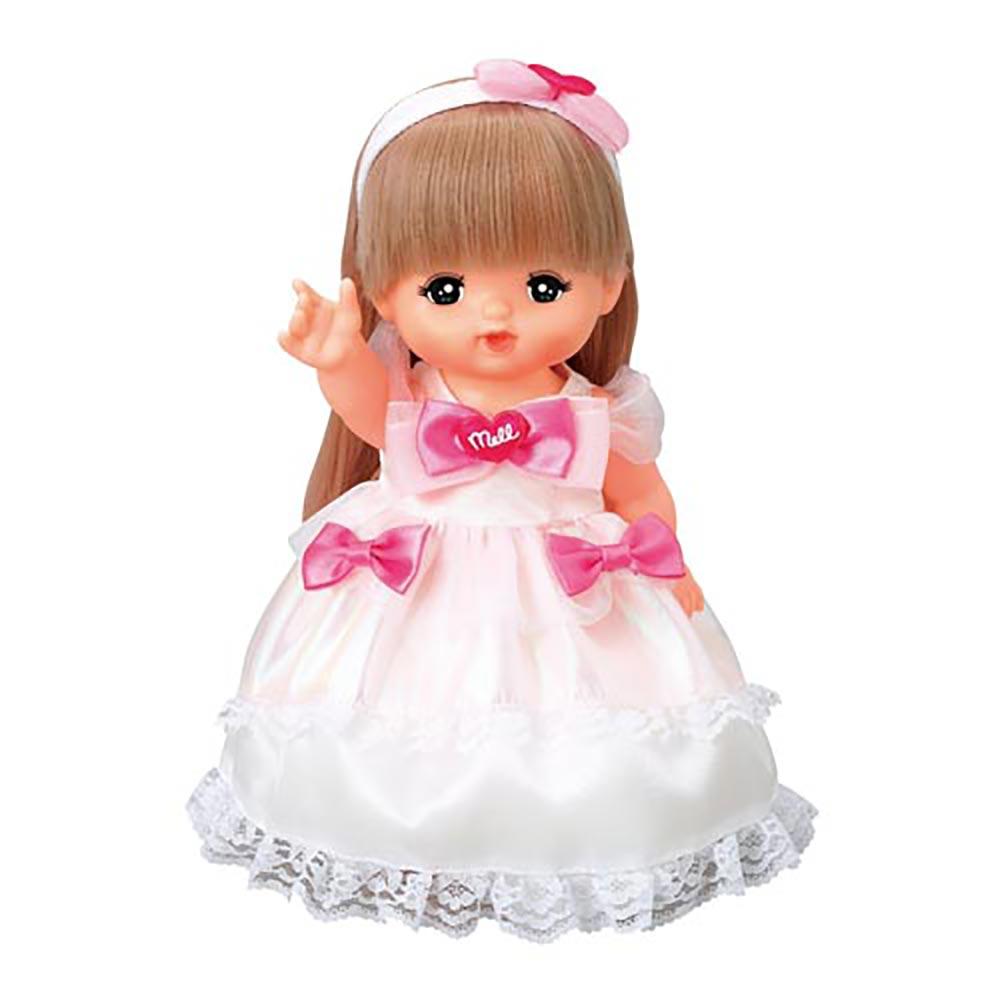 PILOT 小美樂娃娃配件-白色禮服