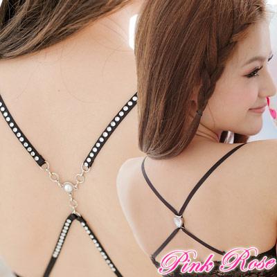 粉紅薔薇-日系百變造型肩帶-繞緊綁帶-任選4件