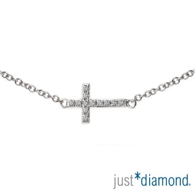 Just Diamond 18K金鑽石手鍊-Trust