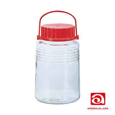 日本ADERIA 梅酒醃漬玻璃罐-4L