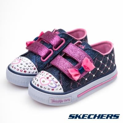 SKECHERS (童) 女嬰系列 SHUFFLES - 10788NDNPK