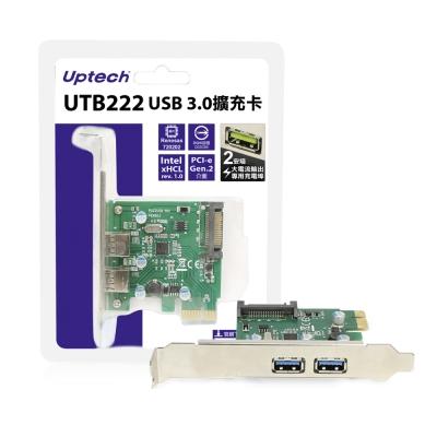 Uptech USB 3.0擴充卡-UTB222(A)