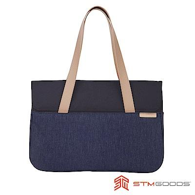 澳洲 STM Grace 15吋優雅時尚筆電托特包 - 深夜藍