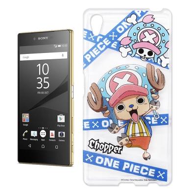 東映授權正版航海王 Sony Xperia Z5 Premium透明軟式手機殼(...