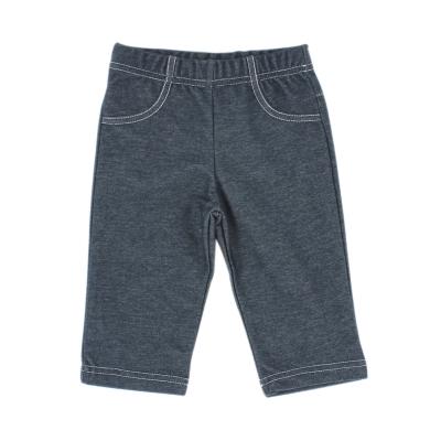 愛的世界 彈性俄羅斯娃娃鬆緊帶牛仔七分褲/1~2歲
