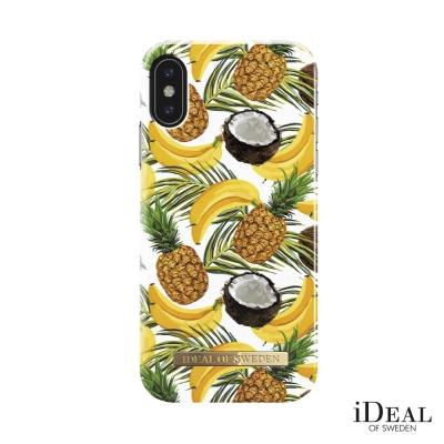 iDeal iPhone X 瑞典北歐時尚手機保護殼-夏季水果調酒
