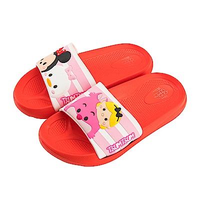 迪士尼 TsumTsum 米妮愛麗絲 立體造型拖鞋