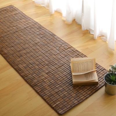 絲薇諾 天然炭化專利麻將竹坐墊-3人座(50×160cm)