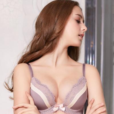 推EASY SHOP-情挑美人 B-D罩內衣(香檳紫)