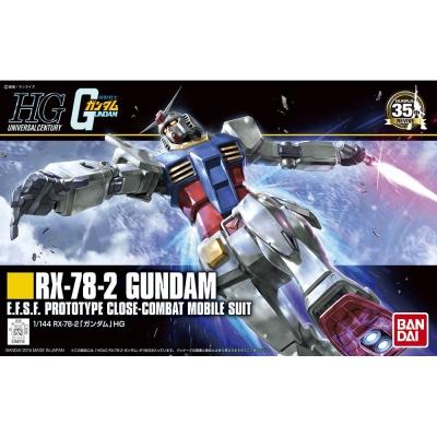 BANDAI 機動戰士鋼彈HGUC 1/144 RX-78-2 鋼彈 191