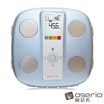 oserio歐瑟若 藍牙無線智慧型體脂計 (藍FWP-511)