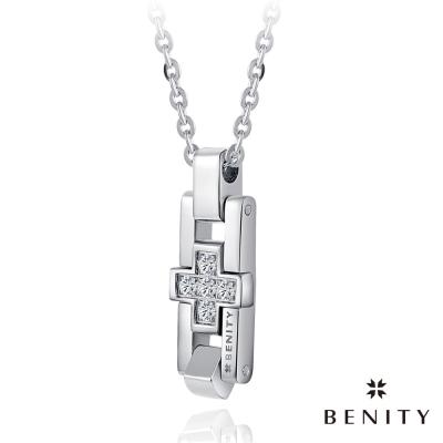 BENITY 十字星願 316白鋼/西德鋼 情侶對鍊款 女項鍊