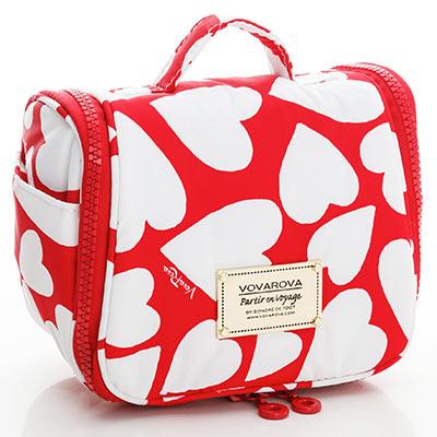 VOVAROVA空氣包-旅行盥洗包-紅心皇后-法國設計系列