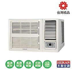 HERAN禾聯 2-4坪 R32 1級變頻窗型冷氣 HW-GL23