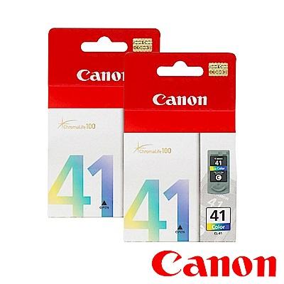 Canon CL-41? 原廠彩色墨水匣組合(2彩)