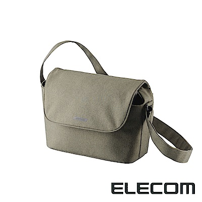 ELECOM normas休閒多功能相機側背包-綠