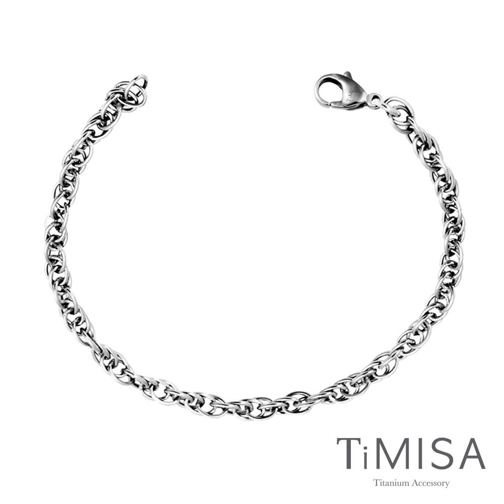 TiMISA《流星雨(J)》純鈦手鍊