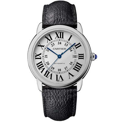 CARTIER 卡地亞RONDE SOLO WSRN0022羅馬白面不鏽鋼-42mm