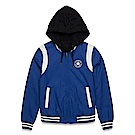 CONVERSE-女雙面穿外套10002875A01-藍