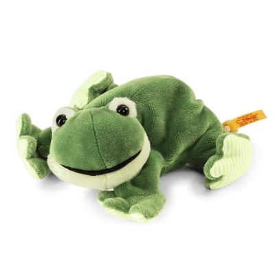 STEIFF德國金耳釦泰迪熊 - Cappy Frog 青蛙 (寵物樂園)