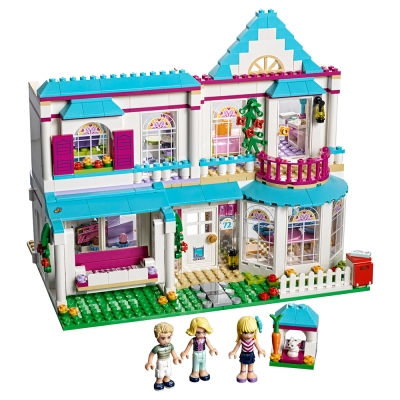 LEGO樂高 Friends系列 41314 斯蒂芬妮的家 (6Y+)