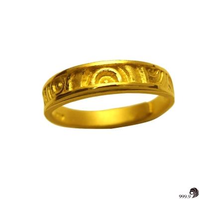 歷代風華-悸動的愛黃金女戒(約1.19錢)