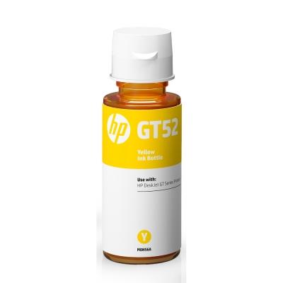 HP M0H56AA GT52 原廠黃色墨水瓶
