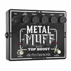 EH Metal Muff with Top Boost 破音效果器