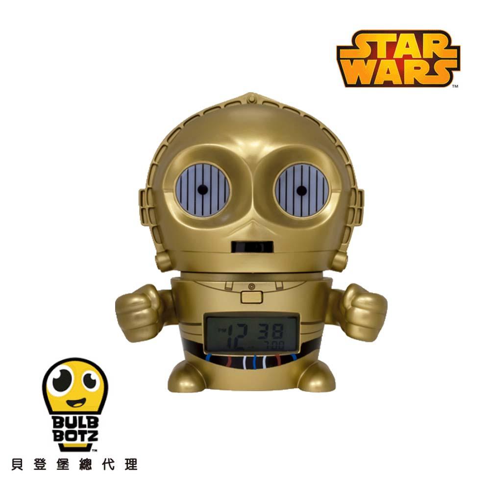 BulbBotz 鬧鐘 C-3PO (5.5 inch) 金人 2021418