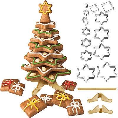 TESCOMA 立體餅乾切模 16 件(聖誕樹)