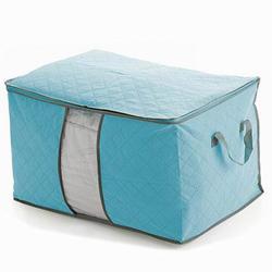 iSFun 繽紛竹碳 棉被衣物收納袋 二色可選60x42x36cm