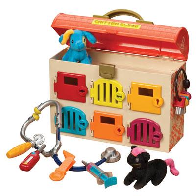 美國B.Toys可麗特寵物診所(橘色)