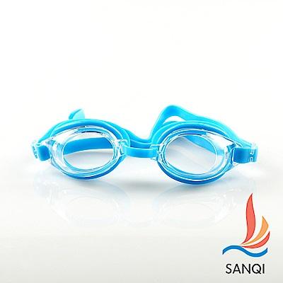 SANQI三奇 兒童泳鏡(803-淺藍F)