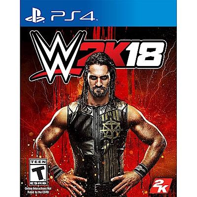 WWE 2K18 激爆職業摔角 18 - PS4 英文美版