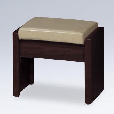 Homelike 亞莉掀蓋化妝椅(三色可選)-43x29x38cm
