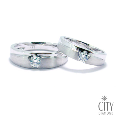 City Diamond『山盟』鑽石對戒