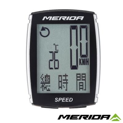 《MERIDA》美利達 SPEEDER碼錶 黑/灰 14功能 1149