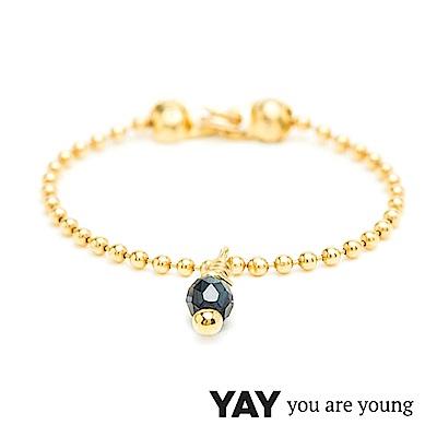 YAY You Are Young 法國品牌 Frida 寶石花束戒指 鍊戒款 藍寶石