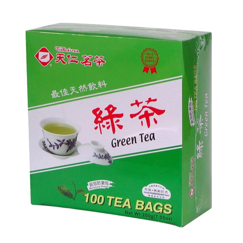 天仁茗茶 綠茶盒裝(2gx100入)