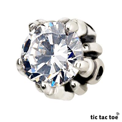 【tic tac toe】搖滾視覺 白鋼耳環(單一入)