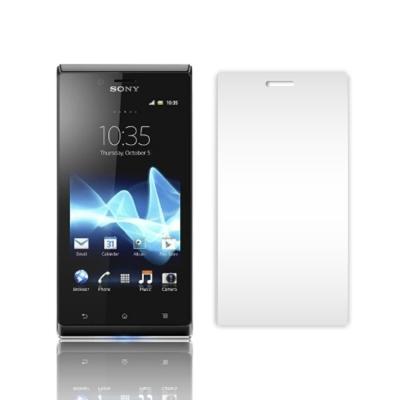 魔力Sony Xperia J ST26i 高透光抗刮螢幕保護貼