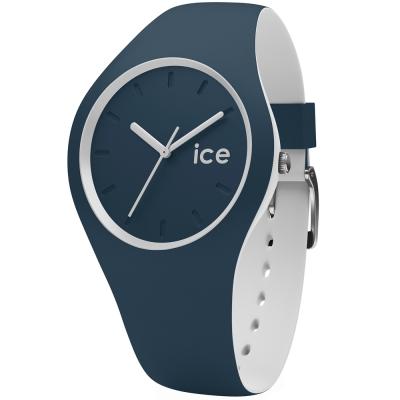 Ice-Watch 玩色系列 炫彩新時尚手錶-午夜藍x白/41mm