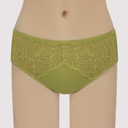 曼黛瑪璉 經典 中腰三角萊克內褲(神秘綠)