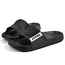 【ZEPRO】女款休閒拖鞋-RELAXED系列-黑
