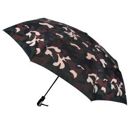2mm 超大!街頭迷彩 超大傘面自動開收傘 (咖啡)