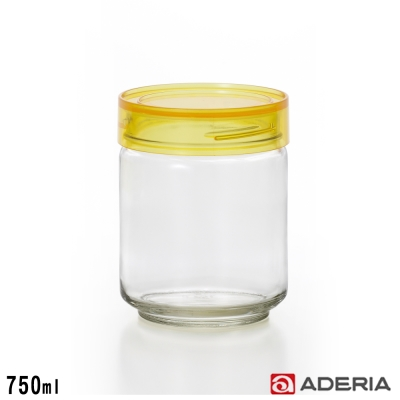 ADERIA 日本進口抗菌密封寬口玻璃罐750ml