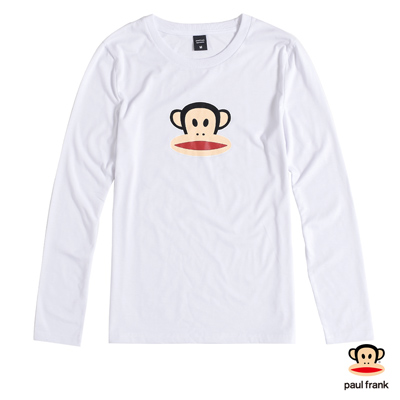 PAUL FRAN-經典julius造型長袖T恤-白(男)