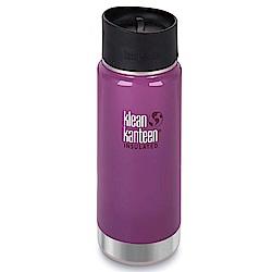 美國Klean Kanteen寬口保溫鋼瓶473ml-紫葡萄